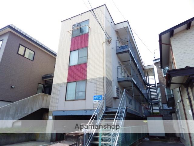 北海道函館市、宝来町駅徒歩7分の築27年 3階建の賃貸マンション