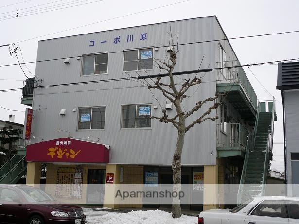 北海道函館市の築31年 3階建の賃貸アパート