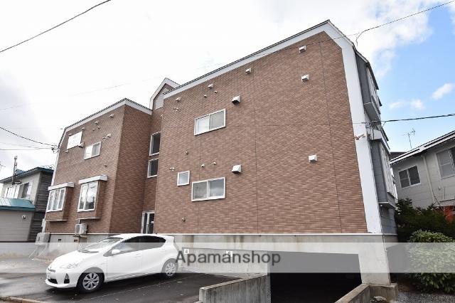 北海道函館市、杉並町駅徒歩17分の築26年 2階建の賃貸アパート