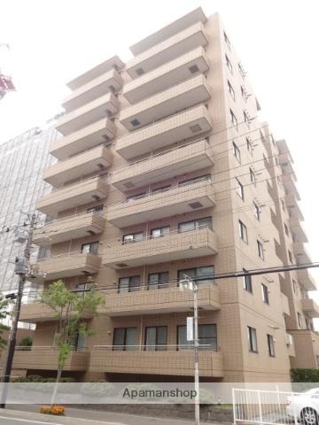 北海道函館市、五稜郭公園前駅徒歩6分の築26年 9階建の賃貸マンション