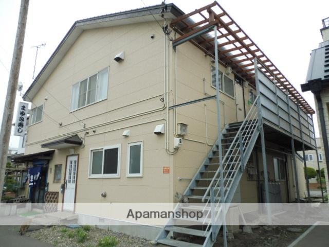北海道函館市、堀川町駅徒歩12分の築35年 2階建の賃貸アパート