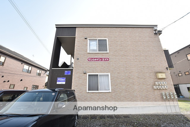 北海道北斗市、上磯駅徒歩17分の築10年 2階建の賃貸アパート