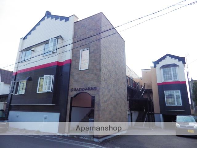 北海道函館市、競馬場前駅徒歩16分の築27年 2階建の賃貸アパート
