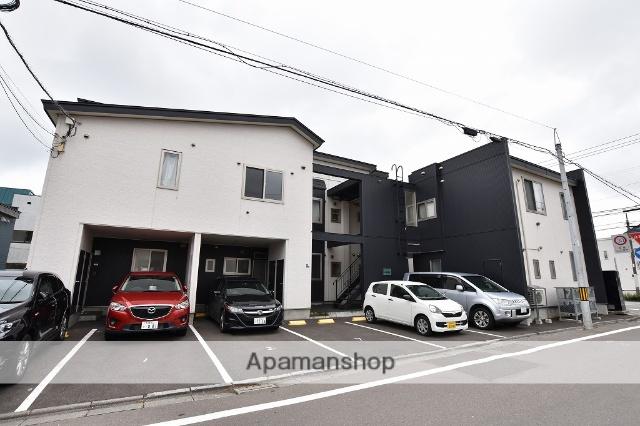 北海道函館市、深堀町駅徒歩11分の築2年 2階建の賃貸アパート