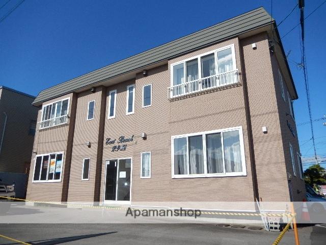 北海道北斗市、久根別駅徒歩9分の築14年 2階建の賃貸アパート