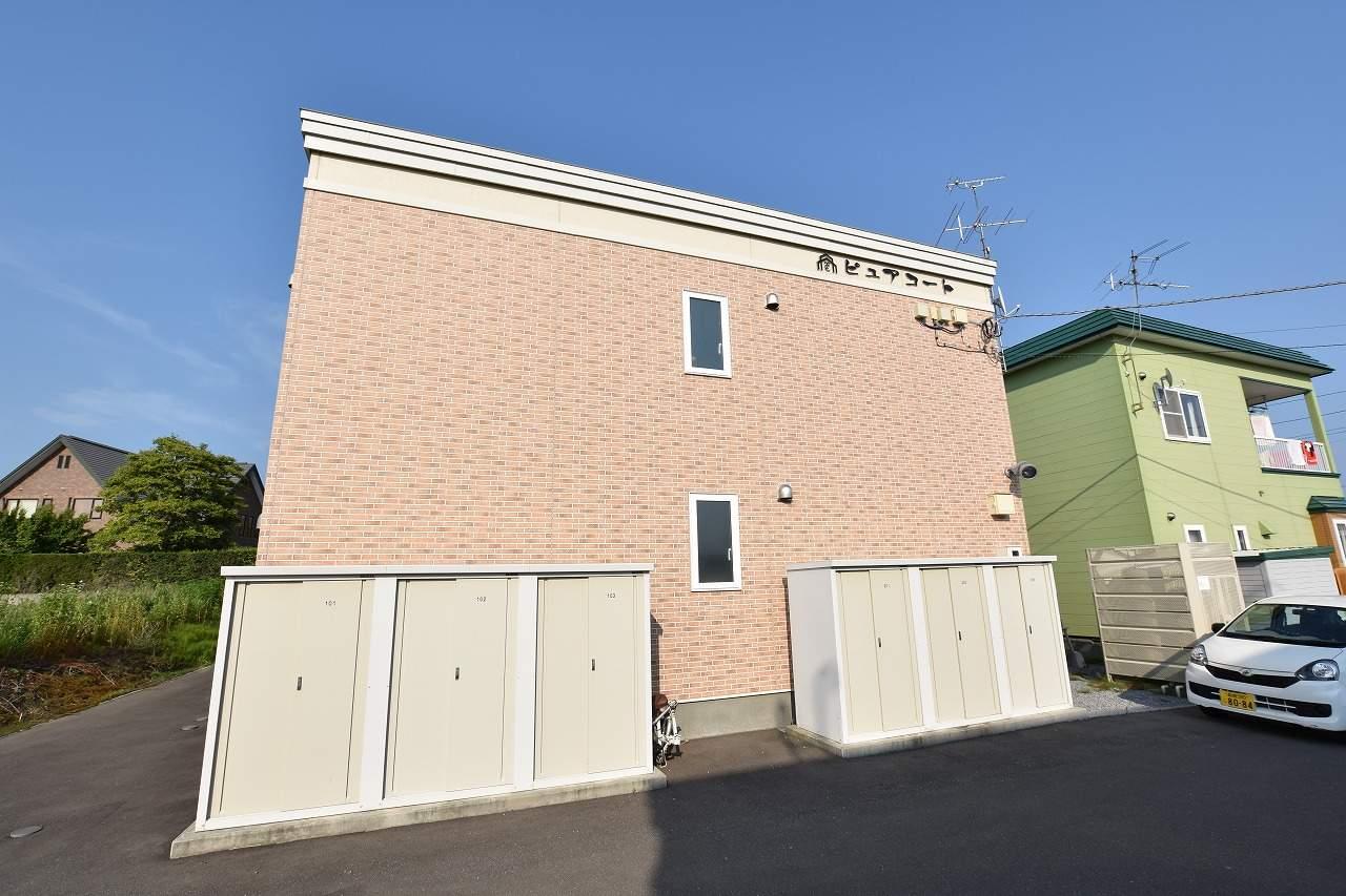 北海道函館市、桔梗駅徒歩18分の築6年 2階建の賃貸アパート