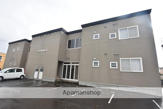 北海道北斗市、久根別駅徒歩13分の築17年 2階建の賃貸アパート