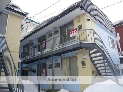 北海道函館市、宝来町駅徒歩11分の築30年 2階建の賃貸アパート