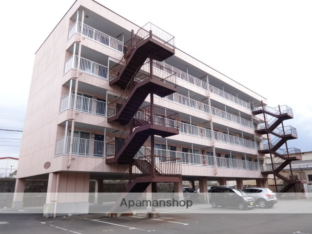 北海道函館市の築17年 5階建の賃貸アパート