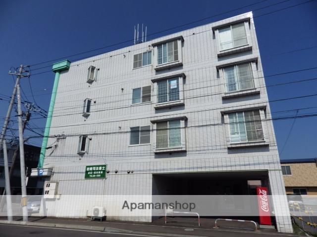 北海道函館市、堀川町駅徒歩5分の築27年 4階建の賃貸マンション