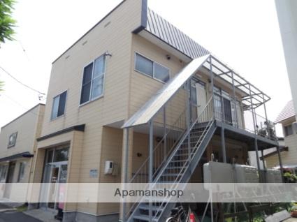 北海道函館市、千代台駅徒歩6分の築37年 2階建の賃貸アパート