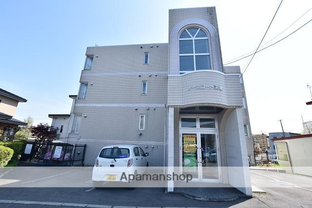 北海道函館市、駒場車庫前駅徒歩12分の築27年 4階建の賃貸マンション
