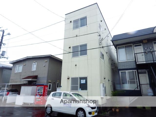 北海道函館市、競馬場前駅徒歩9分の築26年 2階建の賃貸マンション