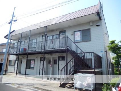北海道函館市、五稜郭駅徒歩10分の築30年 2階建の賃貸アパート