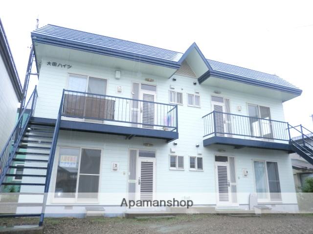 北海道函館市、函館駅函館バスバス41分北大裏下車後徒歩2分の築30年 2階建の賃貸アパート