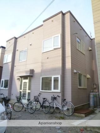 北海道函館市、五稜郭公園前駅徒歩15分の築22年 2階建の賃貸アパート