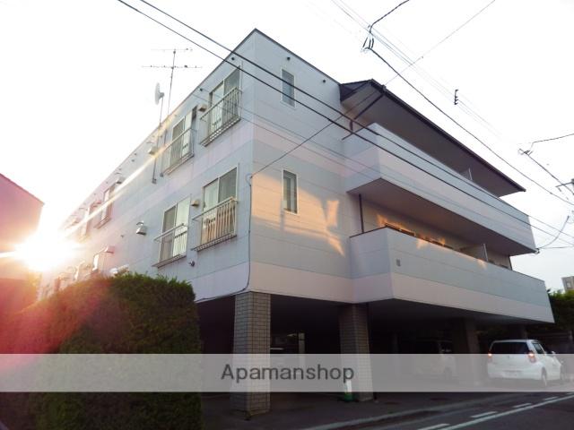 北海道函館市、杉並町駅徒歩6分の築27年 3階建の賃貸アパート