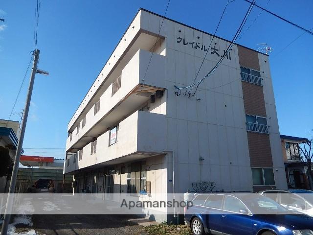 北海道函館市、五稜郭駅徒歩11分の築29年 3階建の賃貸マンション