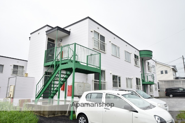 北海道亀田郡七飯町、大中山駅徒歩12分の築11年 2階建の賃貸アパート