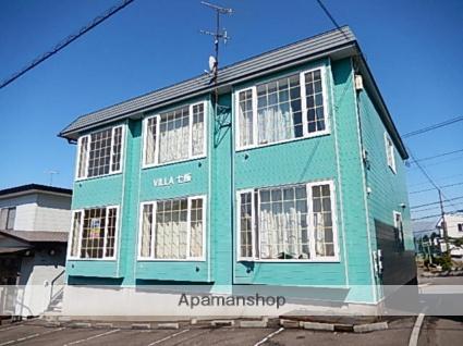 北海道亀田郡七飯町、七飯駅徒歩12分の築18年 2階建の賃貸アパート