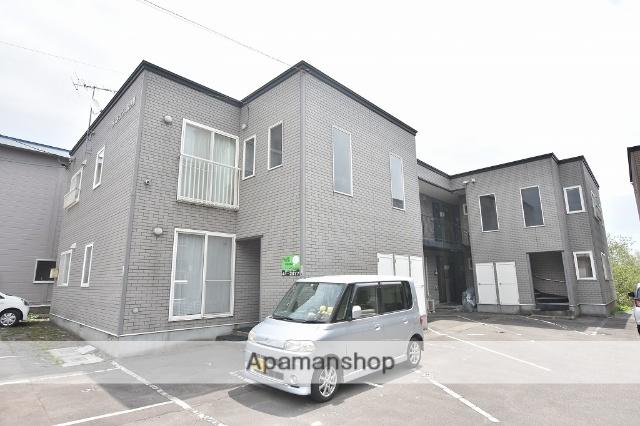 北海道函館市の築15年 2階建の賃貸アパート