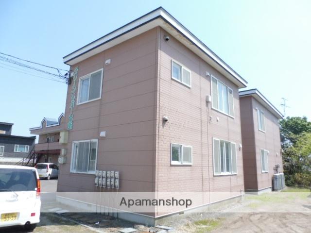 北海道亀田郡七飯町、桔梗駅徒歩16分の築21年 2階建の賃貸アパート