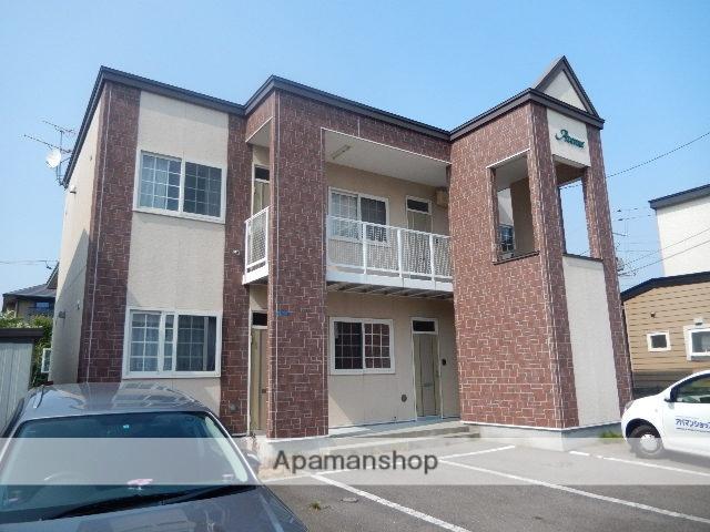 北海道函館市、深堀町駅徒歩14分の築14年 2階建の賃貸アパート