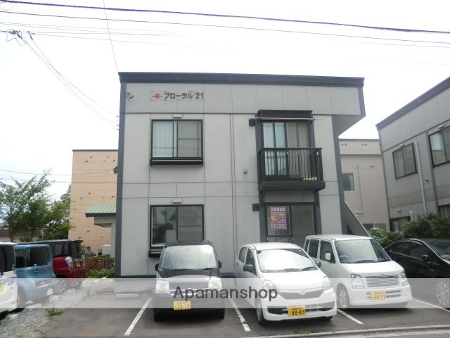 北海道函館市、五稜郭公園前駅徒歩7分の築18年 2階建の賃貸マンション