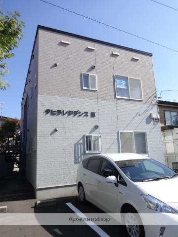 北海道函館市、柏木町駅徒歩12分の築19年 2階建の賃貸アパート
