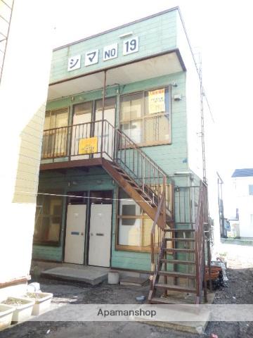 北海道函館市、五稜郭駅徒歩8分の築40年 2階建の賃貸アパート