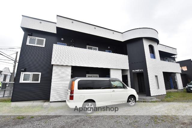 北海道函館市の築27年 2階建の賃貸アパート