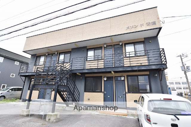 北海道函館市、杉並町駅徒歩17分の築9年 2階建の賃貸アパート