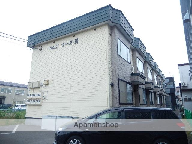 北海道函館市、函館駅徒歩13分の築15年 2階建の賃貸アパート