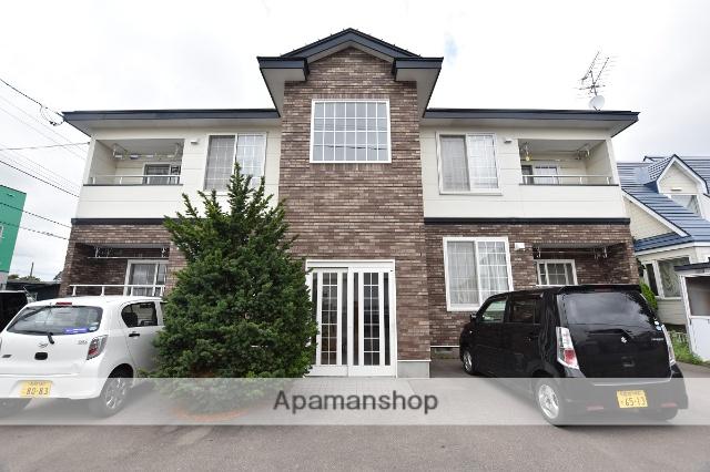北海道函館市、桔梗駅徒歩12分の築18年 2階建の賃貸アパート