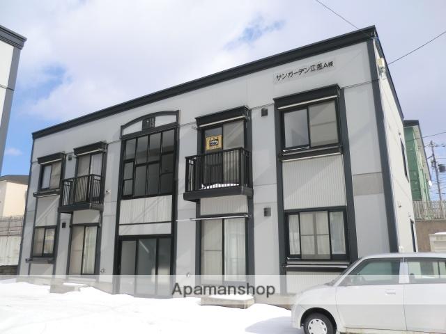 北海道檜山郡江差町の築19年 2階建の賃貸アパート