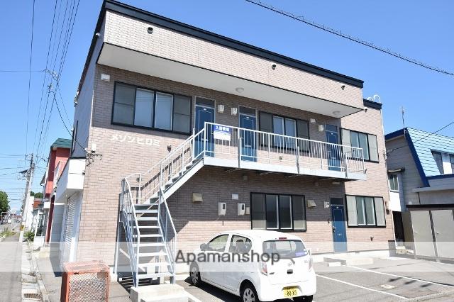 北海道函館市、堀川町駅徒歩7分の築15年 2階建の賃貸アパート