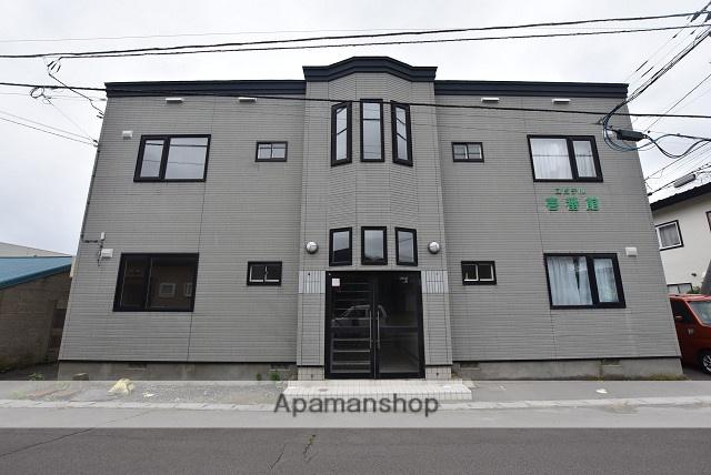 北海道北斗市、七重浜駅徒歩4分の築20年 2階建の賃貸アパート
