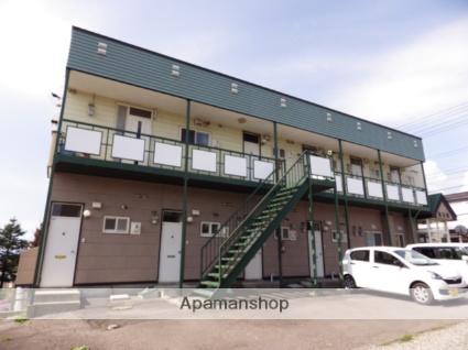 北海道函館市、湯の川駅徒歩23分の築26年 2階建の賃貸アパート