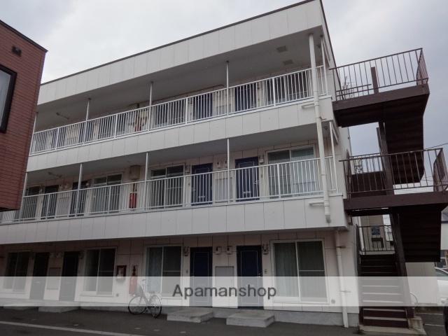 北海道函館市、堀川町駅徒歩10分の築16年 3階建の賃貸アパート