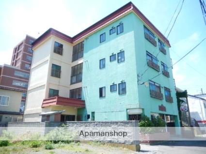 北海道函館市、松風町駅徒歩7分の築27年 4階建の賃貸アパート