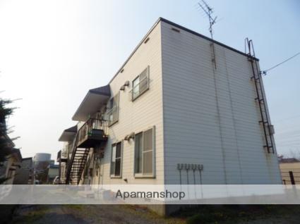 北海道北斗市、七重浜駅徒歩1分の築31年 2階建の賃貸アパート