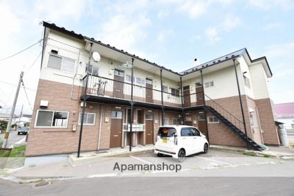 北海道函館市、五稜郭駅徒歩12分の築33年 2階建の賃貸アパート