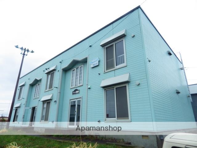 北海道函館市、七重浜駅徒歩20分の築22年 2階建の賃貸アパート