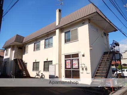 北海道函館市、柏木町駅徒歩8分の築37年 2階建の賃貸アパート