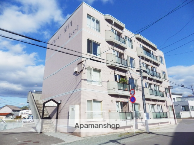 北海道函館市、五稜郭公園前駅徒歩8分の築28年 4階建の賃貸マンション