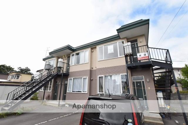 北海道函館市、湯の川駅徒歩14分の築15年 2階建の賃貸アパート