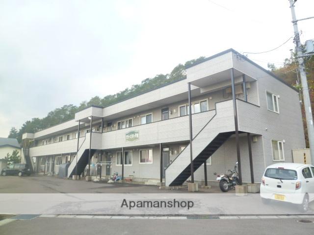 北海道函館市、湯の川駅徒歩12分の築13年 2階建の賃貸アパート