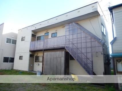 北海道函館市、松風町駅徒歩10分の築26年 2階建の賃貸アパート