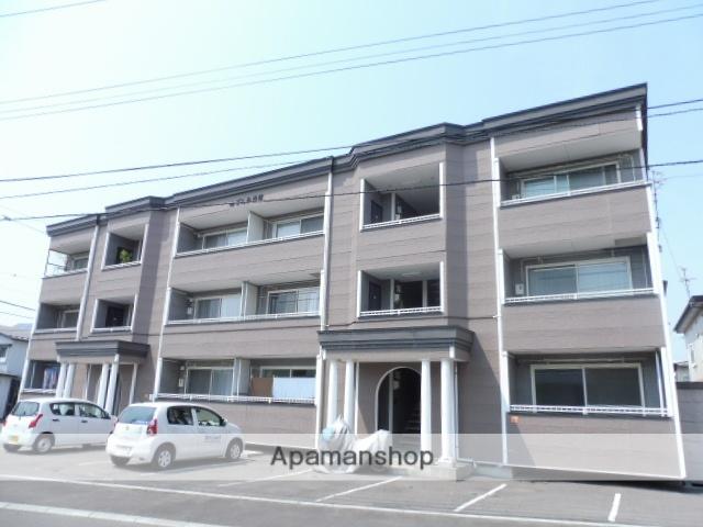 北海道函館市、五稜郭駅徒歩20分の築16年 3階建の賃貸アパート