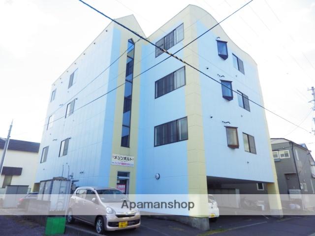 北海道函館市、中央病院前駅徒歩7分の築27年 4階建の賃貸マンション